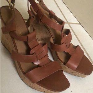 Franco Sarto wedge sandals